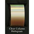 "Designer FoilFX Clear Column Hologram (24"" x 100' roll)"