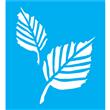 "Aspen Leaf Stencil 8.5""x9"""
