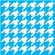 "Houndstooth Stencil Large Pattern 31.75""x31.75"""