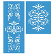 "Renaissance Furniture Stencil Set Large 24.75""x10"""