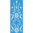 """Scroll Garden Panel Stencil - 30.5""""x11.5"""""""