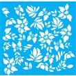 """Flora Stencil - 31"""" X 31"""" Single Layer"""