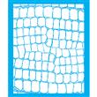 """Large Scale Croc Stencil (sample Board size) - 22"""" X 27"""" Single Layer"""