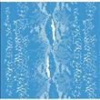 "Snake Skin Stencil - 21""x13.5"" - Single Layer"