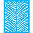 """Urban Zebra Stencil Small - 24"""" X 30.5"""" Single Layer"""