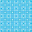 """Antique Ceiling Tile Stencil 12"""" X 12"""""""
