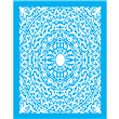 "Moorish Medallion Stencil 22"" x 28"""