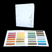 LusterStone Color Brochure - Actual Sample