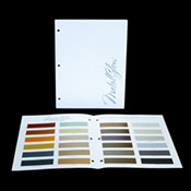 MetalGlow Color Options Brochure - Actual Sample