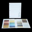 Setcoat Metallic/Matte Color Brochure - Actual Sample