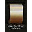 "Designer FoilFX Clear Spectrum Hologram (24"" x 100' roll)"