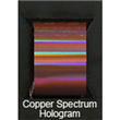 "Designer FoilFX Copper Spectrum Hologram (24"" x 100' roll)"