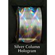 "Designer FoilFX Silver Column Hologram (24"" x 100' roll)"