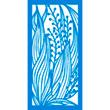 """Door Panel Blossom 2 - 1 Layer 12""""x24"""""""