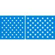 "Flag Stars Set - (1)17.5""x22"" and (1)17.5""x18.5"""