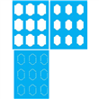 "Moorish Tile Stencil - 19.5"" X 25.5"" 3 Layers"