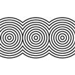 "Crop Circles EzStick Stencil - 24"" X 55"""