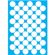 """Bubble Wrap Stencil - 20"""" X 28"""" Single Layer (3"""" circles)"""