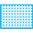 "Kaleidoscope Stencil Small- 18"" X 24"" Single Layer"