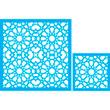 "Moroccan Set - 42"" X 42"" Single and 22"" X 22"" Single"